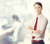 At office — Stock Photo