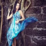 Fashion at the banyan — Stock Photo #12491249