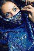 Beautiful sari — Stock Photo