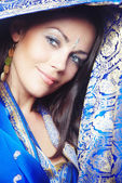 Belo sari — Fotografia Stock