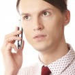 Mobile talk — Stock Photo