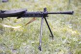 Heavy machine gun — Stock Photo