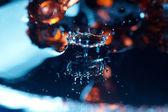 Drop in liquid — Stock Photo