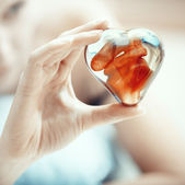 Heart of love — Stock Photo