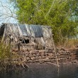 Old fishing house — Stock Photo