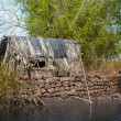Stock Photo: Old fishing house