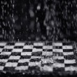 Chessboard under rain — Stock Photo #39618533
