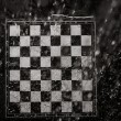 Chessboard under rain — Stock Photo #39618641