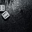 Stock Photo: Gambling dices