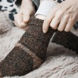 Stock Photo: Woolen socks