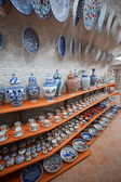 Ceramic art shop — Stock Photo