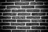Dark Old Brick Wall Texture — Stock Photo
