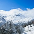 High mountains in Georgia in the winter time — Stock Photo #28567761