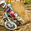 Polish Western Zone Motocross Championship Round VI Poland — Stock Photo