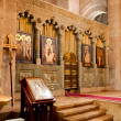 Altar in the old historic Catholic Church — Stock Photo #32754911