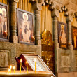 Altar in the old historic Catholic Church — Stock Photo #32754925