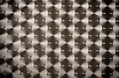 Background of metal with repetitive patten — Stock Photo