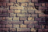 Brick wall texture grunge to use as background — Stockfoto