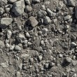 Dry soil and stones of an agricultural field — Stock Photo