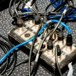 Stock Photo: Cable divider on stage