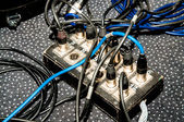 Cable divider on the stage — Stock Photo