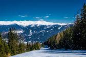 Estância de esqui de neustift stubai glacier áustria — Fotografia Stock