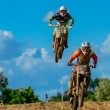Motocross rider on the race — Stock Photo #49765163