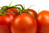 Bunch of ripe fresh red tomatoes — Stock Photo