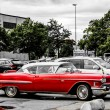 Old red classic chevrolet — Stock Photo #51407723
