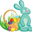 Easter bunny — Stock Vector #22282545