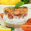 Salmon tartare — Stock Photo #18416139