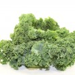 Stock Photo: Kale on a light background