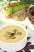Sweet chestnut soup — Stock Photo