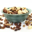 Nut-fruit mixture — Stock Photo