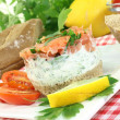 Salmon tartare — Stock Photo #16857931