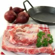 Beef spare ribs - Stock Photo
