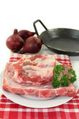 Beef spare ribs — Stock Photo