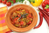 Tagine Kefta — Stock Photo