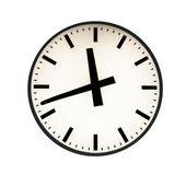 Five to twelve on the clock — Stock Photo