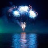 πολύχρωμα πυροτεχνήματα — Φωτογραφία Αρχείου