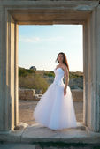 Beautiful bride — Стоковое фото