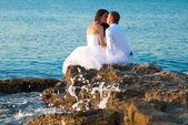 красивая свадьба пара — Стоковое фото