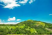 Green mountain — Stock Photo