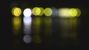 Abstract lights background, blurred. — Stock Video