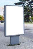 κενό billboard — Φωτογραφία Αρχείου