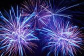 Kleurrijke vuurwerk — Stockfoto
