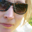 Pretty woman in sunglasses — Stock Photo