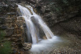 Beautiful waterfall — Stock Photo