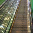 Empty escalator stairs — Stock Photo
