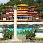 Indian buddhistic monastery — Stock Photo #38756995